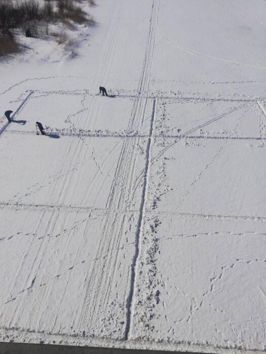 В Оренбурге в канун паводка на Урале распилили лед