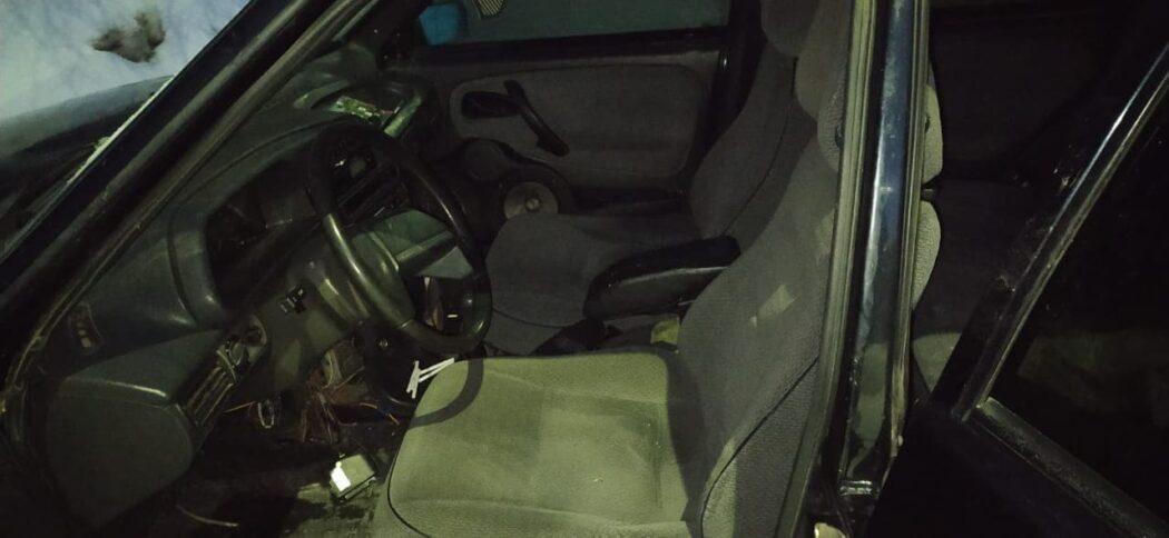 В Ташле поймали пьяного водителя на чужом автомобиле