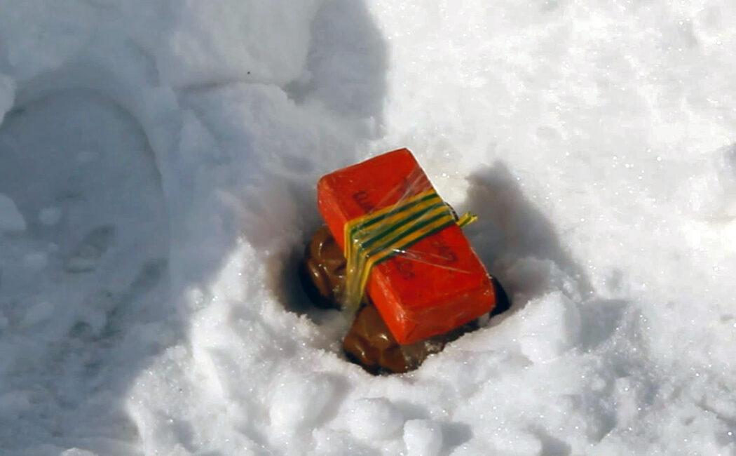 Рогсгвардия на оренбургском полигоне уничтожила вещдоки