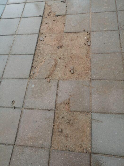 В Оренбурге ремонтировать плитку на улице Советской будут до 1 июня