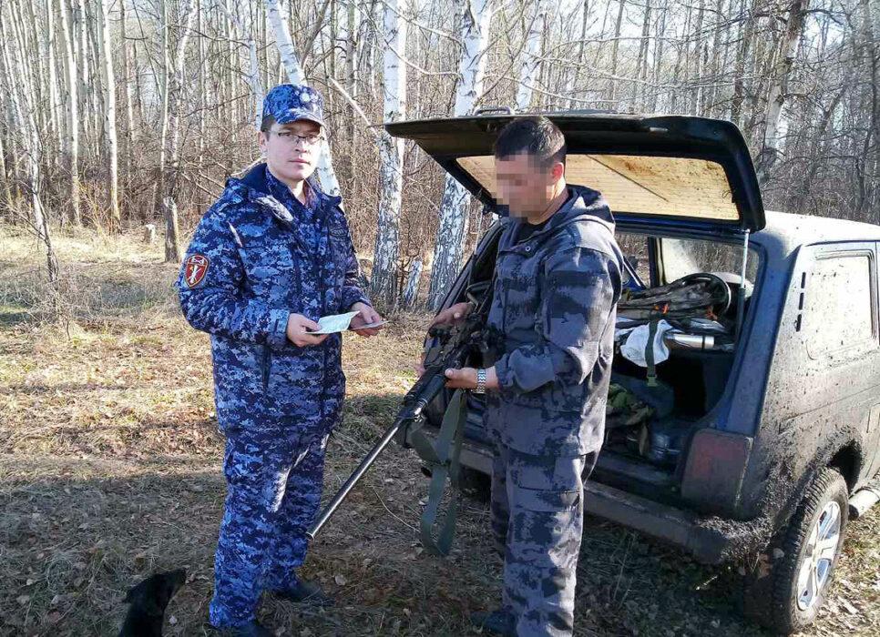 В Оренбуржье выявили 8 фактов нарушения правил охоты