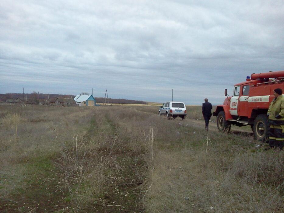 В Сорочинском районе был обнаружен снаряд