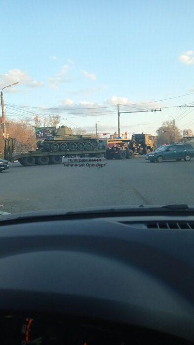 В Оренбурге в параде Победы впервые примет участие легендарный танк войны Т-34