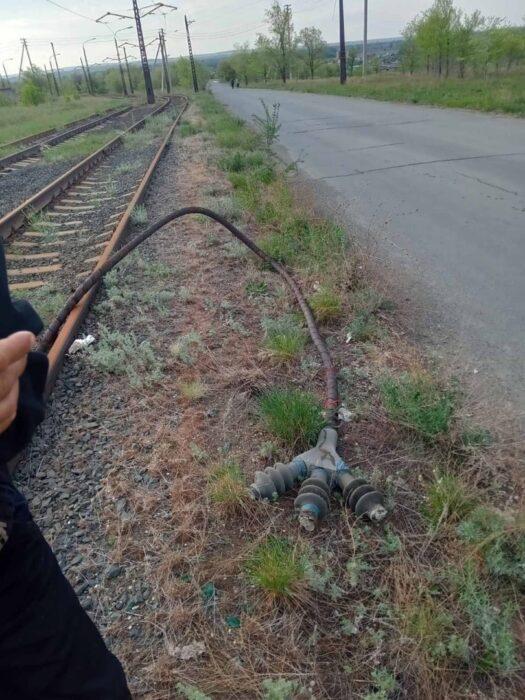 В Орске охотник за металлом похитил кабель с трамвайных путей