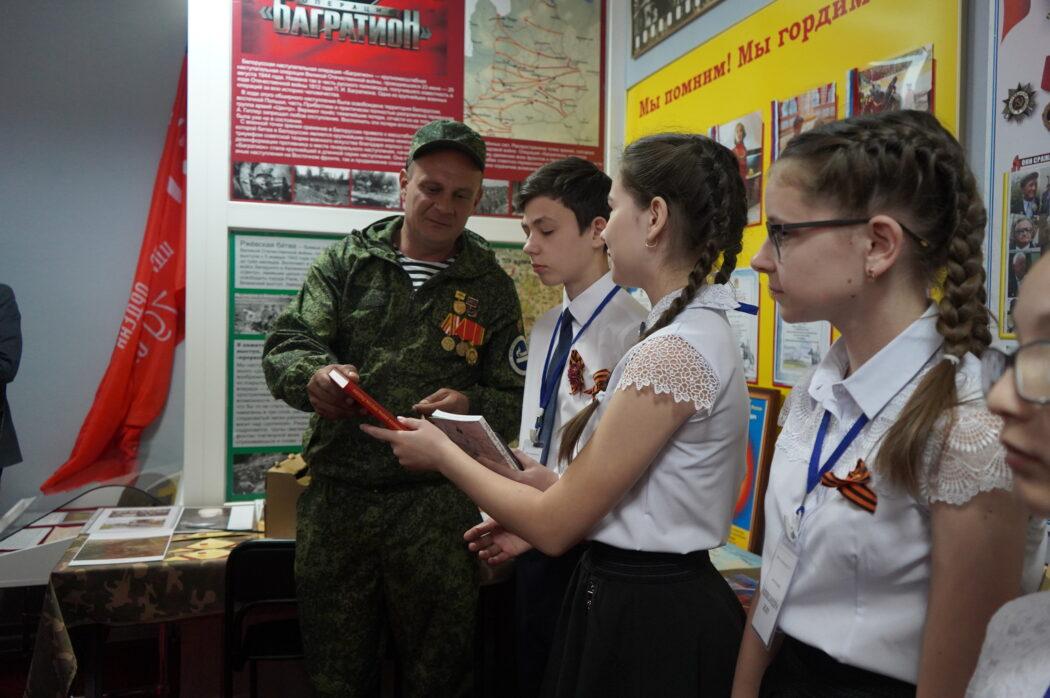 Степановской школе Оренбургского района присвоено имя Героя Советского союза Ильи Артищева