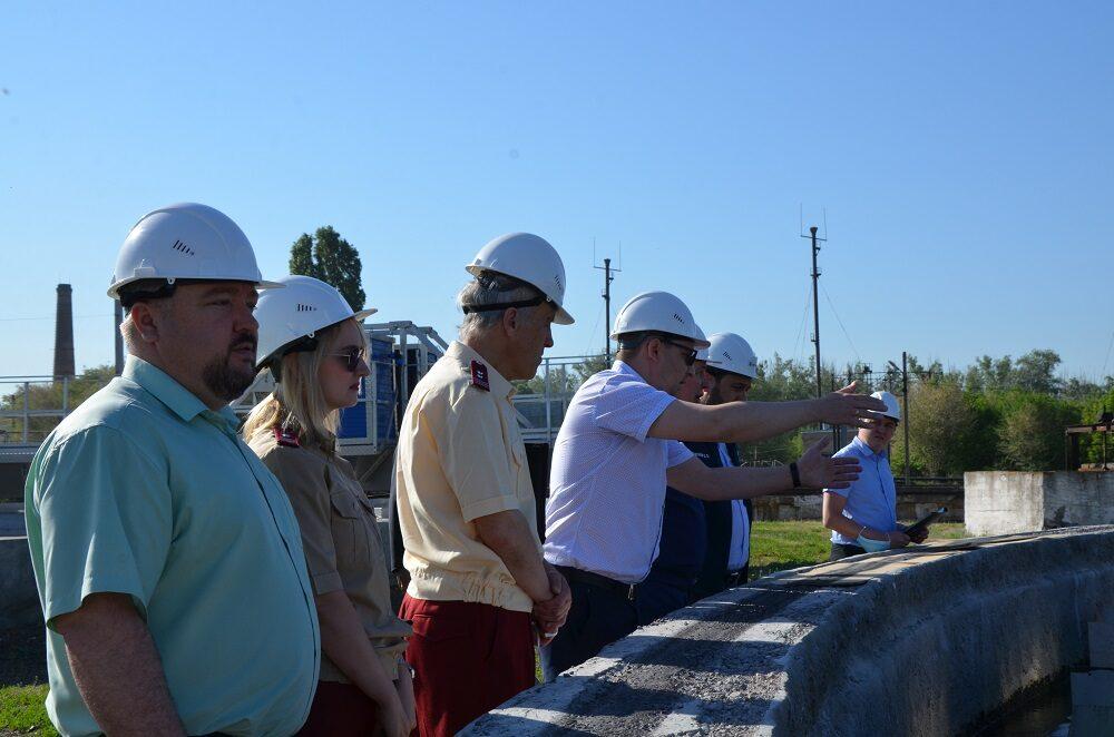 «Росводоканал Оренбург» продемонстрировал работу объектов надзорным органам