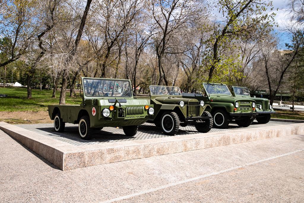 """В Оренбурге в парк """"Салют, Победа!"""" вернулась легендарная """"Катюша"""""""