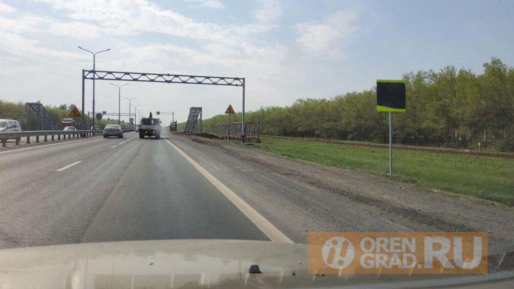Под Оренбургом началось строительство надземных пешеходных переходов