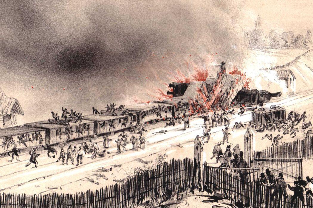 День памяти, красный крест и красный полумесяц, первая железнодорожная катастрофа и «Коридор бессмертия». День в истории