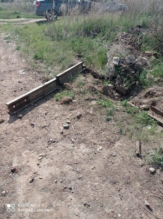 В Абдулино охотники за металлом разобрали рельсы