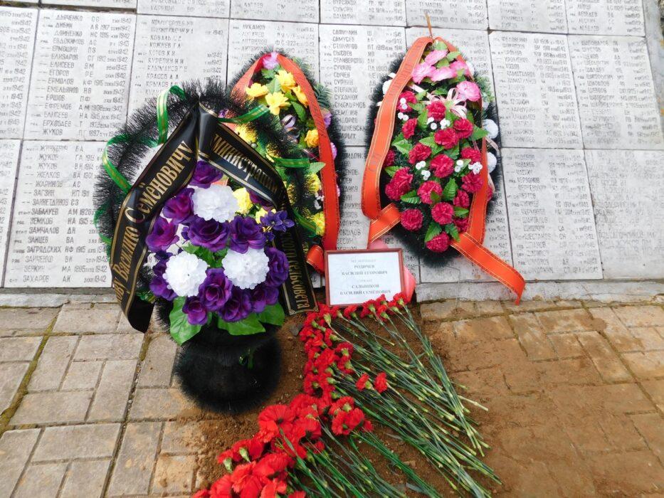Оренбургские поисковики с воинскими почестями перезахоронили останки земляка, павшего в боях под Ржевом