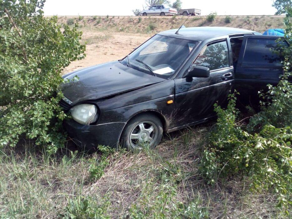 В Новоорском районе пострадала престарелая пассажирка