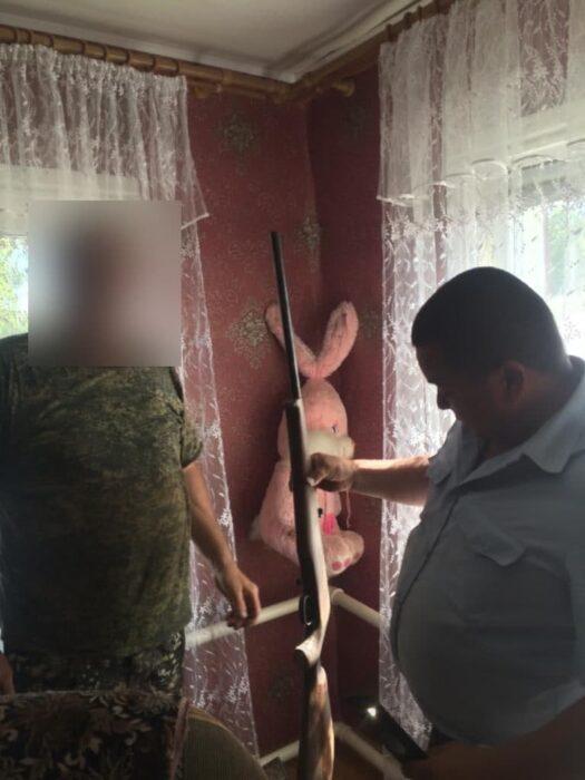 У жителя Александровского района изъято самодельное, но боевое ружье