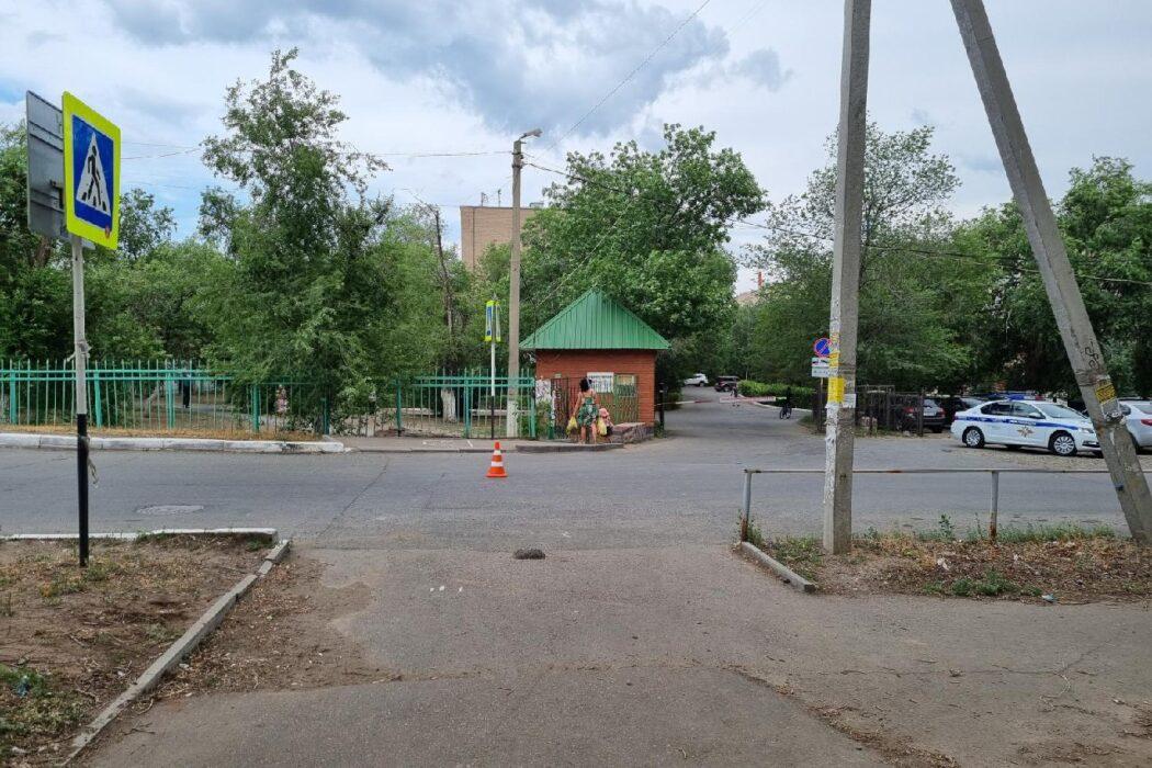 В Оренбурге полиция разыскивает водителя, который сбил женщину