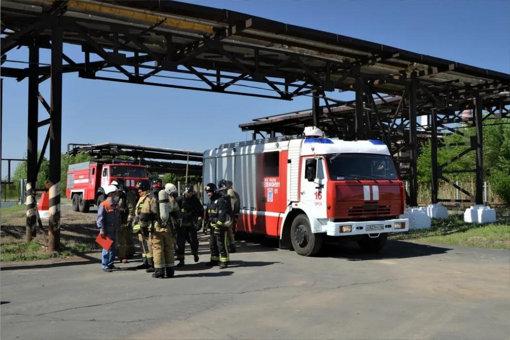 На Орской ТЭЦ-1 ликвидировали «пожар» на мазутохранилище