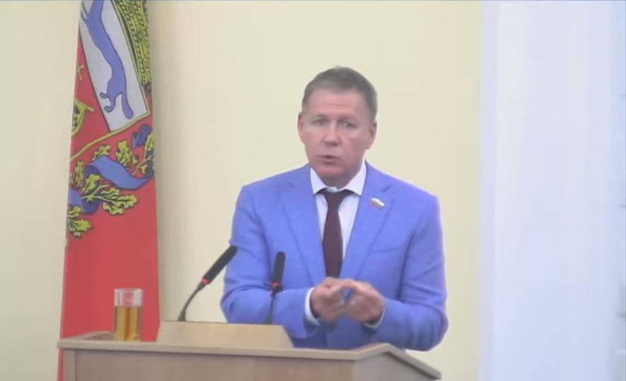 Депутаты оренбургского Заксоба Фролов и Амелин не поддержали отчет губернатора Паслера