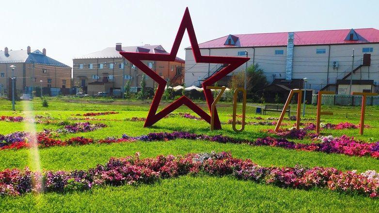 В Сорочинске вандалы разожгли костер в парке и испортили скульптуру