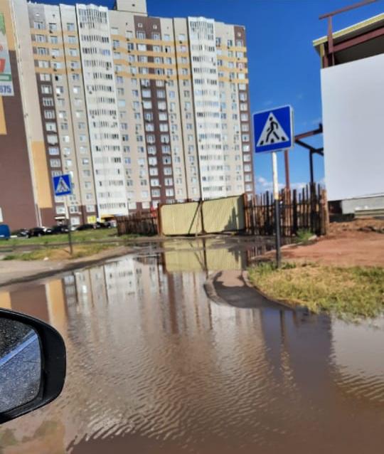 Очередная коммунальная авария в Оренбурге оставила целый микрорайон без воды