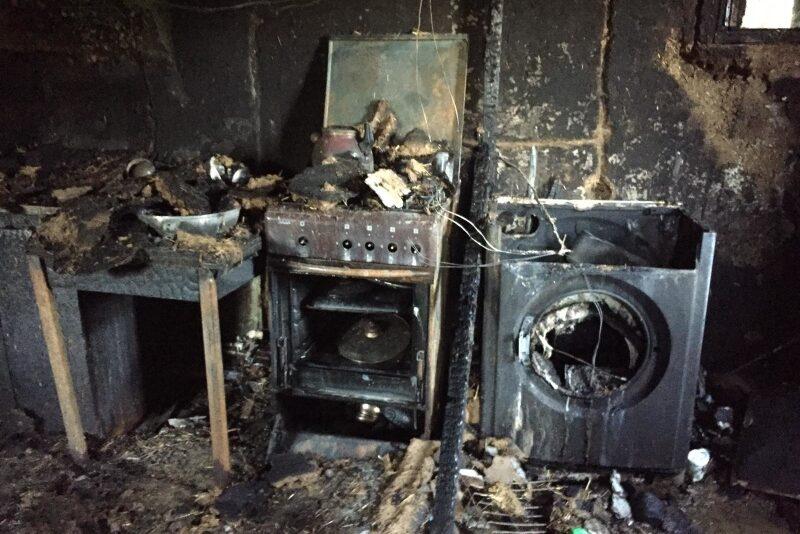 В Беляевском районе в результате пожара погиб мужчина