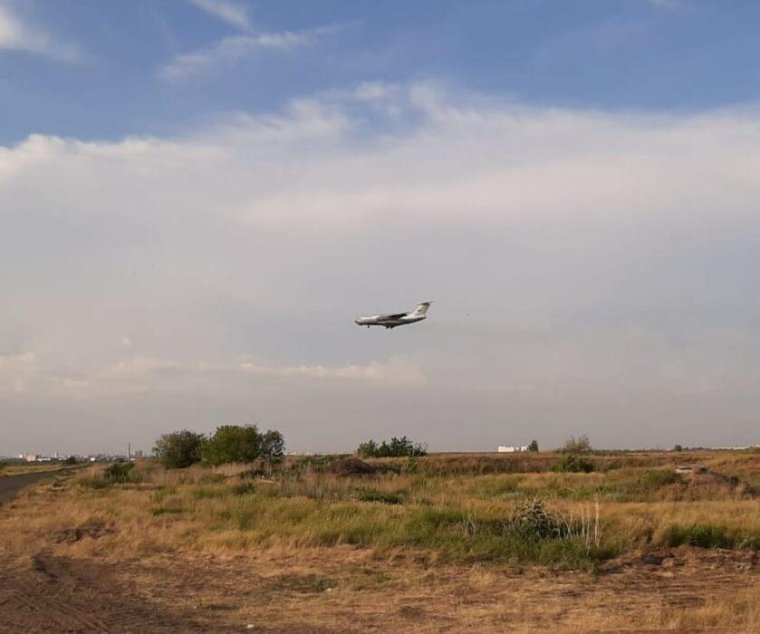 Власти Оренбурга из-за пожара ввели режим ЧС