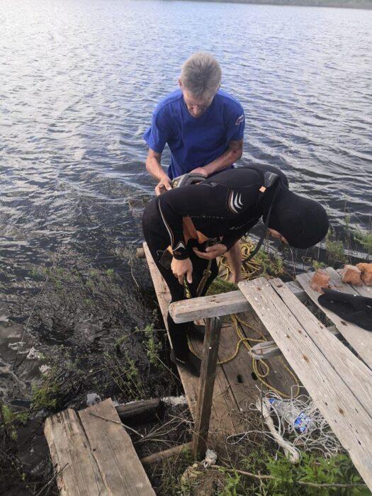 В Тоцком районе утонул мужчина