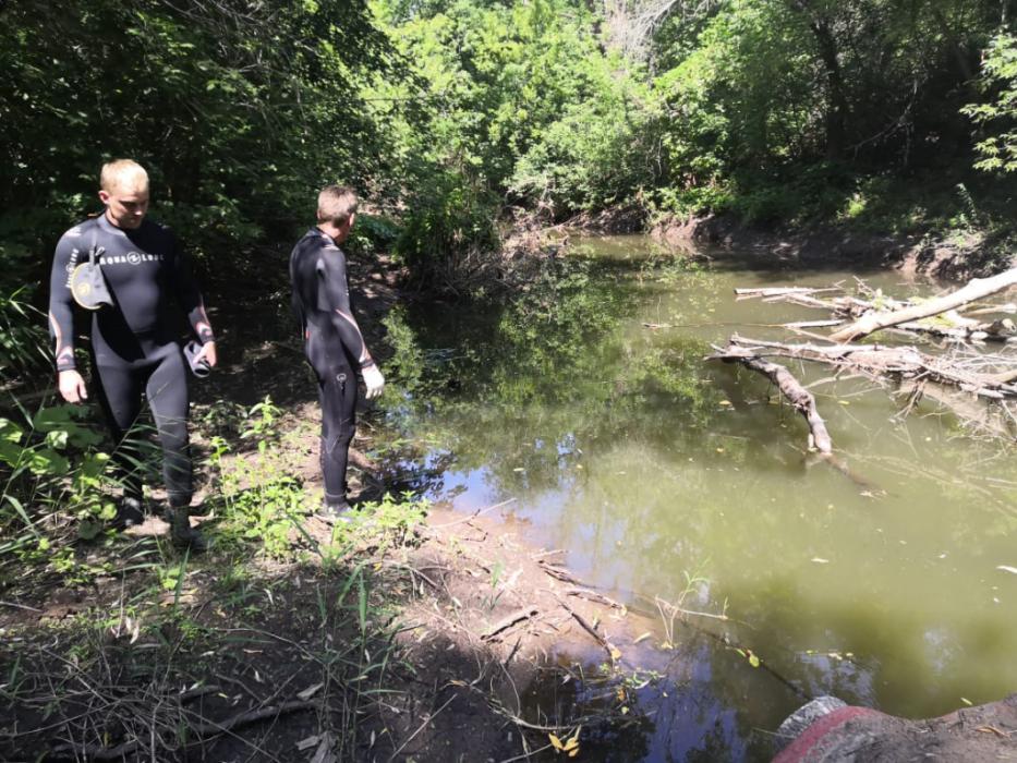 В реке Самара под Сорочинском водолазы ищут человека, утонувшего еще в апреле