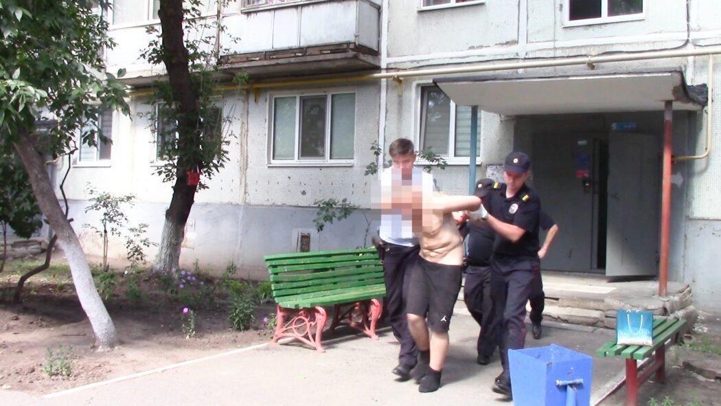 В Оренбурге служебная собака привела полицейских к квартире рецидивиста