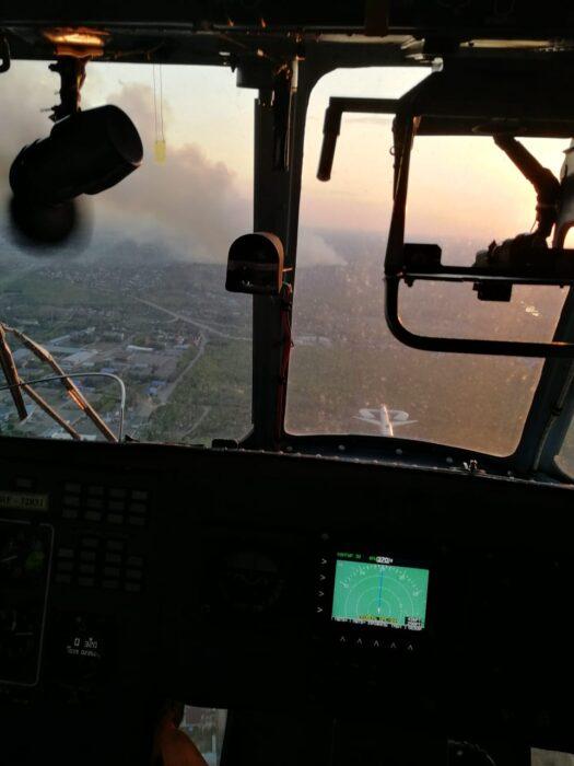 Десятки домов сгорели в «Протопоповской роще» в 2010 году