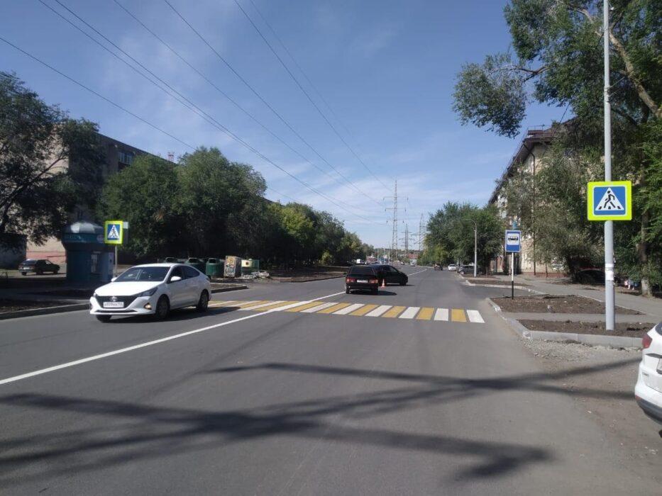 В Оренбурге на улице Котова в ДТП пострадал 7-летний ребенок