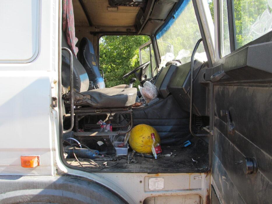 В Сорочинске пьяный мужчина угнал грузовик своего друга