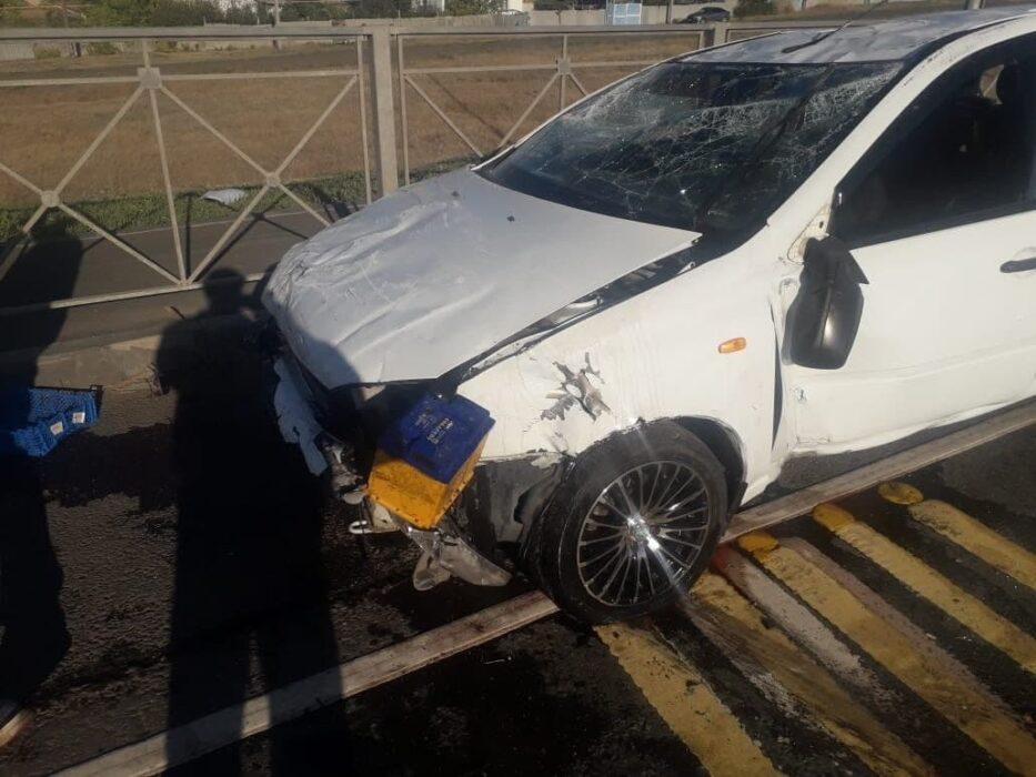 В Шарлыкском районе в аварии пострадал пятимесячный ребенок