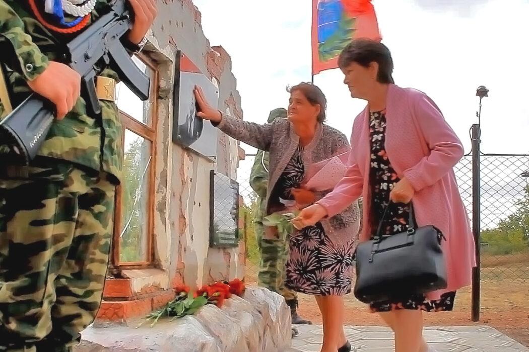 В Переволоцком районе увековечили память Героя России Раиса Мустафина