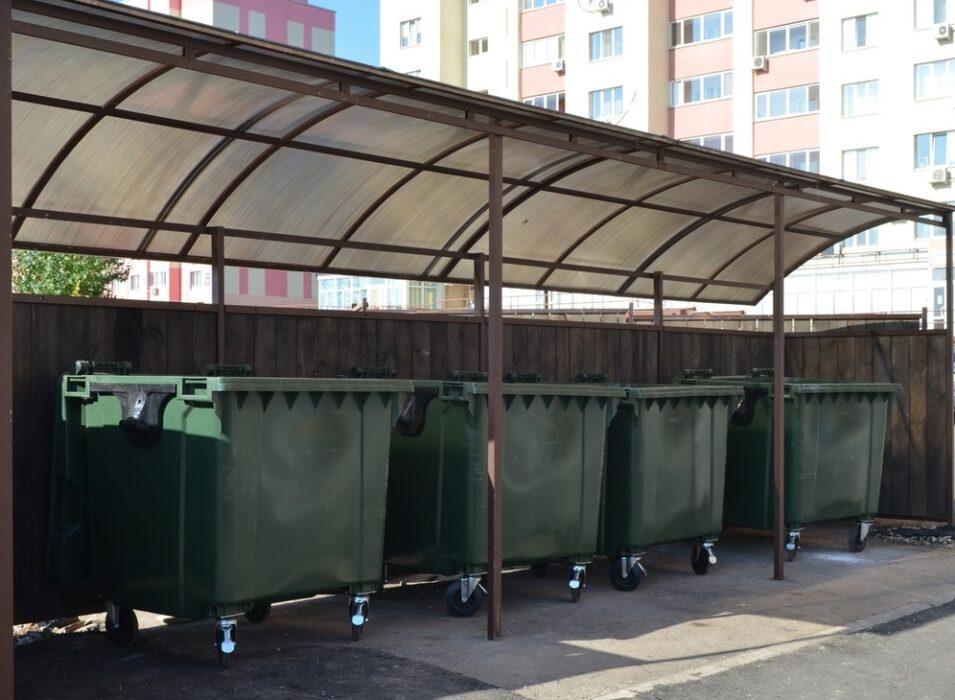 Новые мусорные площадки, как пример участия бизнеса в решении экологических проблем Оренбурга