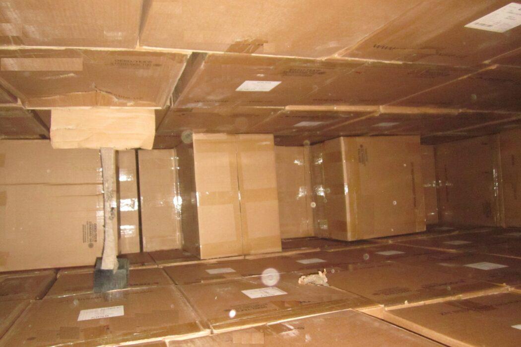 На границе Оренбуржья и Казахстана задержан грузовик с подозрительной безтабачной смесью