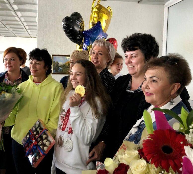 Чемпионка Паралимпийских игр Виктория Ищиулова вернулась домой