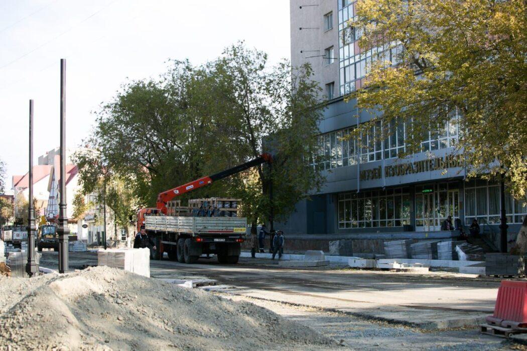 Ремонт улицы Автодромной в Оренбурге подходит к концу